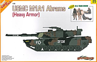 USA M1A1 ABRAMS ET FIGURINES 1/35