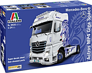 MERCEDES ACTROS MP4 GIGA SPACE 1/24