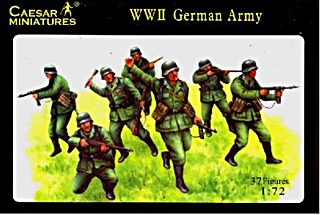ALLEMAGNE INFANTERIE WWII 1/72