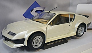 ALPINE A310 ROUGE PACK GT 1983 BLANC PERLE