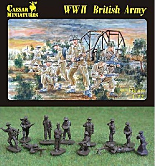 ANGLETERRE INFANTERIE WWII 1/72