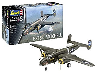 NORTH AMERICAN B25 MITCHELL 1/48