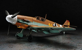 MESSERSCHMITT BF109 F4 TROPICAL 1/32