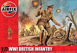 ANGLETERRE INFANTERIE WWI 1/72