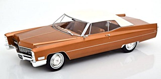 CADILLAC DEVILLE SOFT TOP 1967 1/18