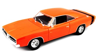 DODGE CHARGER R/T 1969 1/18