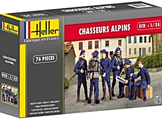 FRANCE CHASSEURS ALPINS 1/35