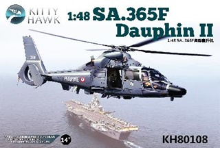 SUD AVIATION DAUPHIN SA 365F/ AS 565SA 1/48