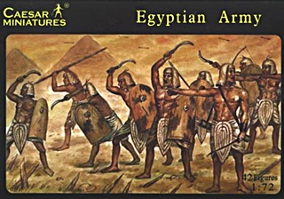EGYPTIENS ARMEE 1/72