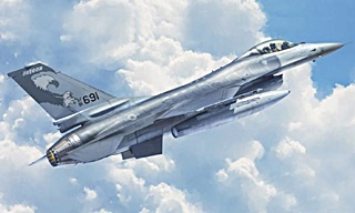 LOCKHEED F16 A FIGHTING FALCON 1/48