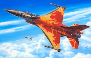 LOCKHEED MARTIN F16 MLU SOLO DISPLAY 1/72