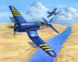 CHANCE VOUGHT F4 U7 CORSAIR AERONAVALE 1/48
