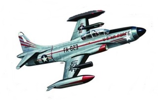 LOCKHEED F94C STARFIRE FIGHTER 1/48