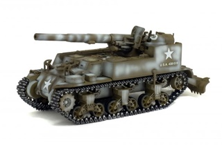 USA GMC M12 155MM 1944 1/72