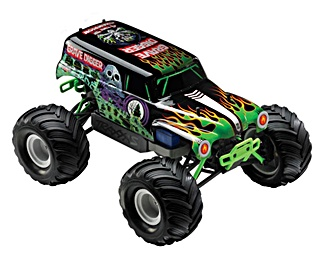 TRUCK GRAVE DIGGER 1/16