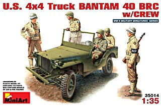 USA JEEP ET 5 SOLDATS 1/35