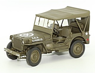 - 1/18 USA JEEP WILLYS CANVAS TOP 1944