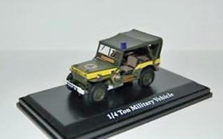 FRANCE JEEP SECURITE CIVILE 1/43
