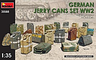 ALLEMAGNE 24 JERRYCANS 1/35