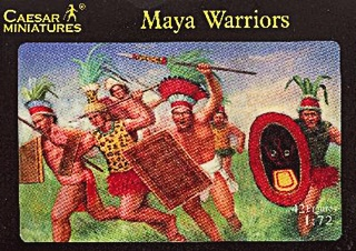 MAYAS GUERRIERS 1/72