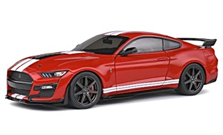 FORD MUSTANG GT500 ROUGE 2020 1/18