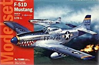 NORTH AMERICAN F51D MUSTANG EN SET 1/72