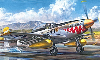 NORTH AMERICAN F51 D MUSTANG COREE 1/32