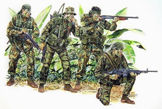USA NAVY SEAL VIETNAM 1/35