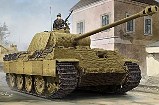 ALLEMAGNE PANTHER SERIE A ZIMMERIT 1/35
