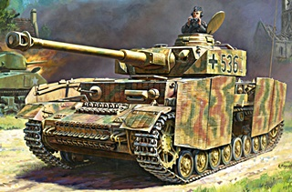 ALLEMAGNE PANZER IV SERIE H 1/35