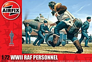 ANGLETERRE PERSONNEL R.A.F WWII 1/72