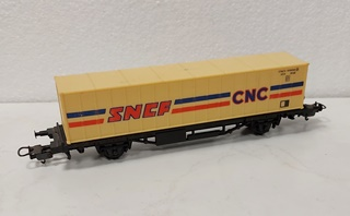 - WAGON PORTE CONTAINER SNCF 1/87