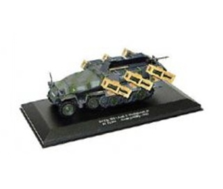 ALLEMAGNE SDKFZ 251/1 SERIE C LANCE ROQUETTES 1/43