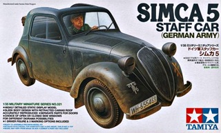 ALLEMAGNE SIMCA 5 STAFF  1/35