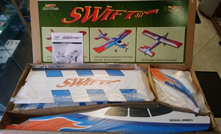 TRAINER SWIFT 40 BOIS COMPLET A MONTER