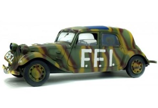 - 1/18 FRANCE CITROËN TRACTION FFI 1944