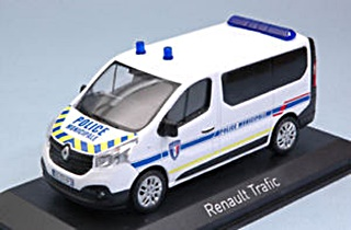 RENAULT TRAFIC POLICE MUNICIPALE 2014 1/43