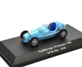 GORDINI TYPE 15 GP DE PAU 1948 1/43