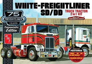 WHITE FREIGHTLINER EDITION 75 ANS 1/25